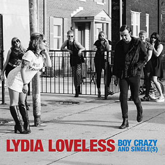 LYDIA LOVELESS_Boy Crazy And Single_S_ _180g Yellow Vinyl_ New Release Oct 2017