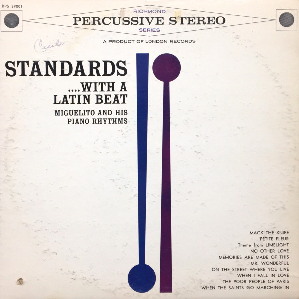 MIGUELITO AND HIS PIANO RHYTHMS_Standards... With A Latin Beat