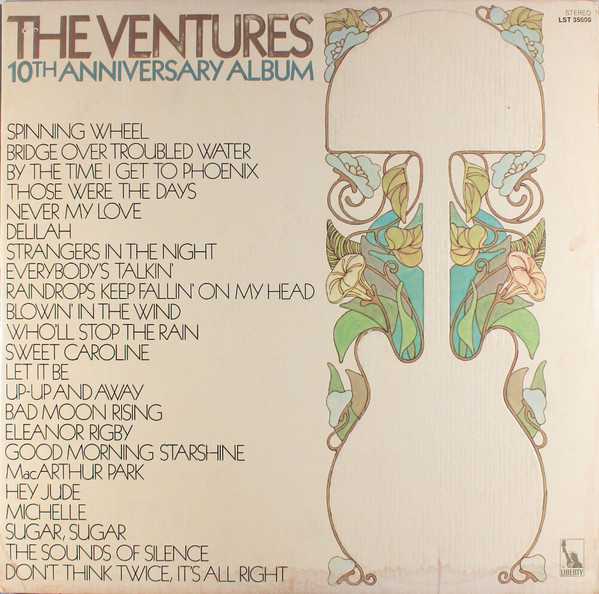 THE VENTURES_The Venturtes 10th Anniversary Album