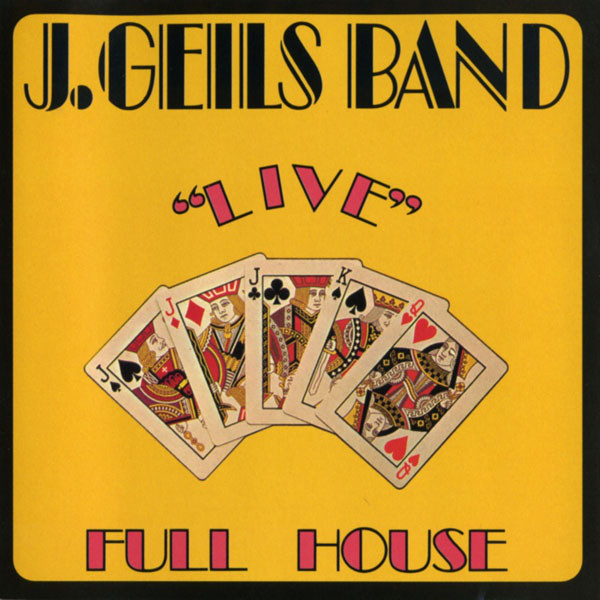 THE J. GEILS BAND_