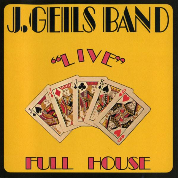 J. GEILS BAND_Live Full House