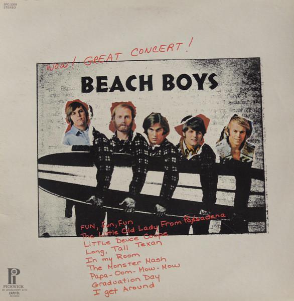 THE BEACH BOYS_Wow! Great Concert!