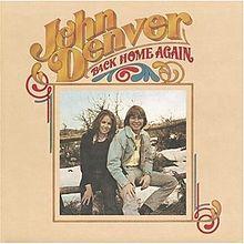 JOHN DENVER_Back Home Again _Gatefold, W/ Inner Sleeve__