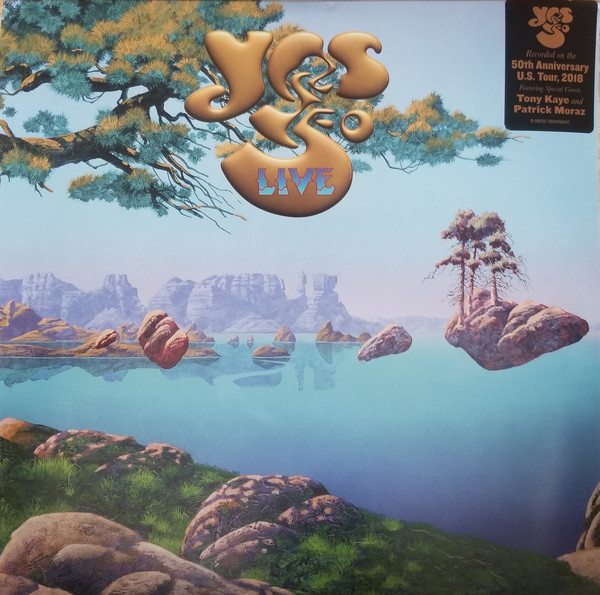 YES_Yes 50 Live _Gatefold, Etched_