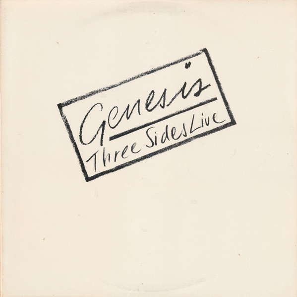 GENESIS_Three Sides Live