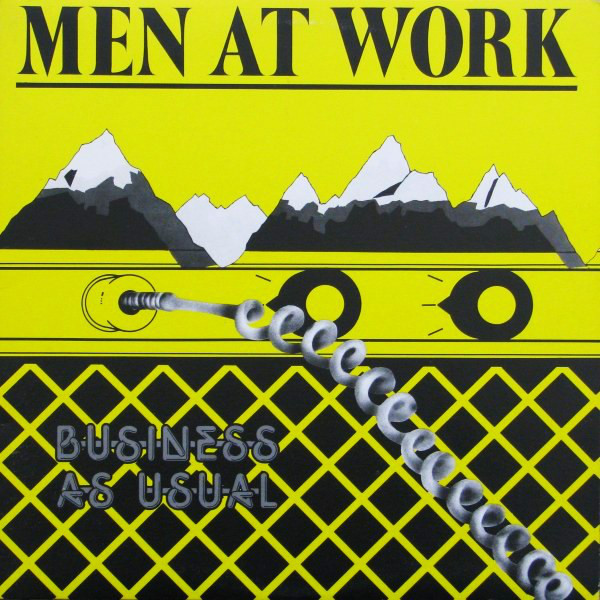 MEN AT WORK_Business As Usual Yellow