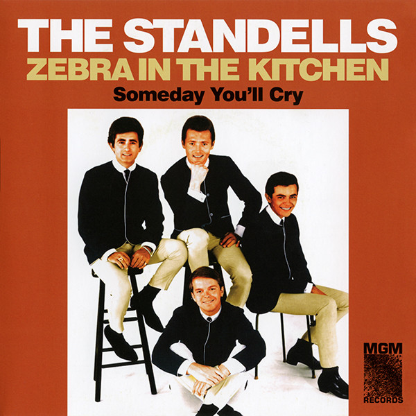 THE STANDELLS_Zebra In The Kitchen / Someday You'll Cry