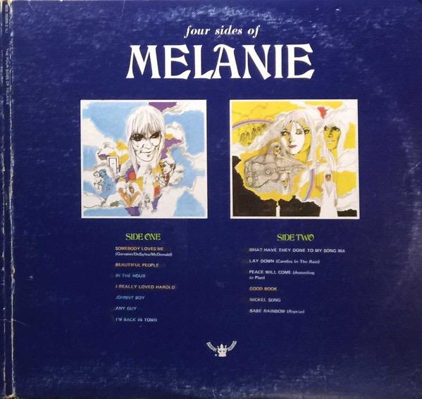 MELANIE_Four Sides Of Melanie