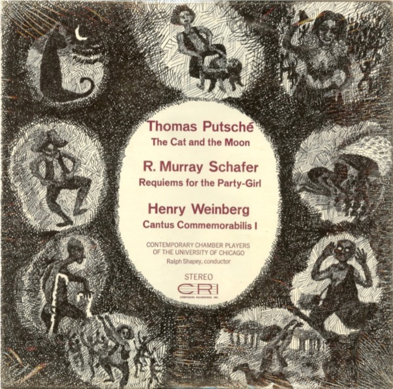 THOMAS PUTSCHE_The Cat And The Moon / Requiems For The Party-Girl / Cantus Commemorabilis I
