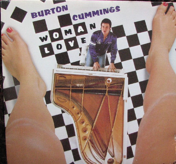 BURTON CUMMINGS_Woman Love _W/Printed Inner Sleeve_
