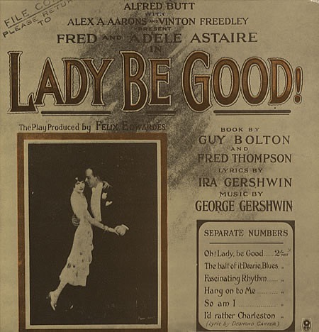 FRED ASTAIRE_Lady Be Good