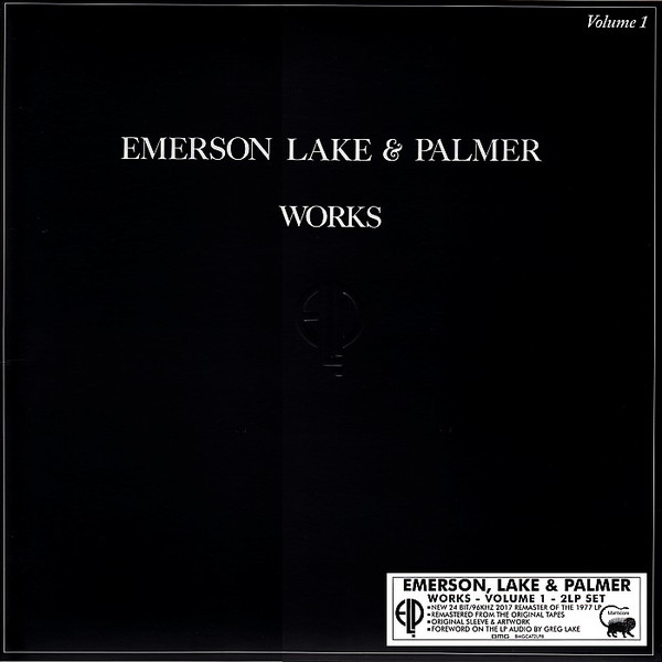 LAKE EMERSON_Works _2 Lp_ Volume 1