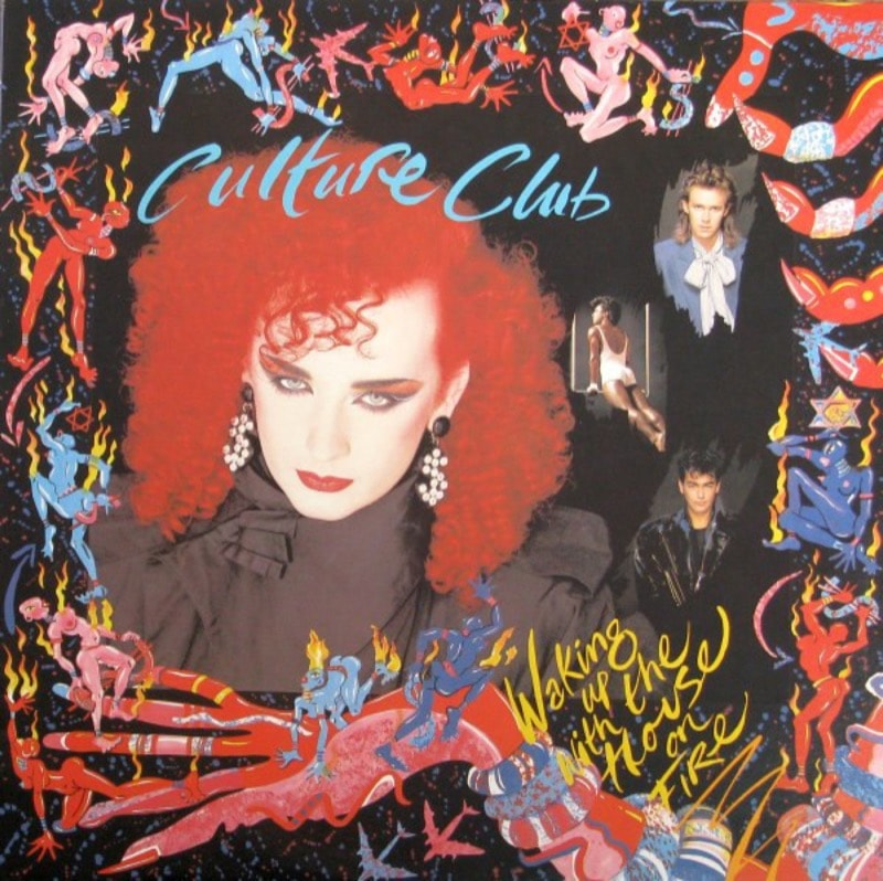 CULTURE CLUB_Waking Up With The House On Fire _W/Orig Inner Sleeve_
