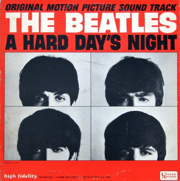 THE BEATLES_A Hard Days Night _Mono 1964, Red Label_