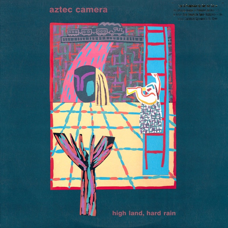 AZTEC CAMERA_High Land, Hard Rain _W/Original Inner Sleeve_