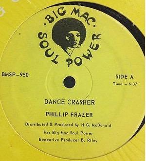 PHILLIP FRAZER / JOHN HOLT_Dance Crasher / Till Iam Gone