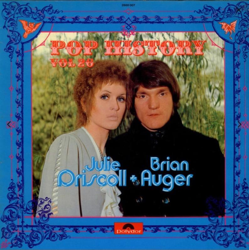 JULIE DRISCOLL + BRIAN AUGER_Pop History Vol 26