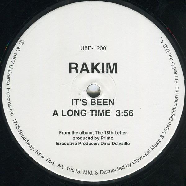 RAKIM_Its Been A Long Time