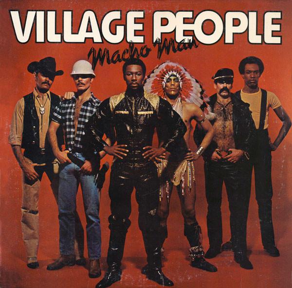 VILLAGE PEOPLE_Macho Man (w/orig inner sleeve)
