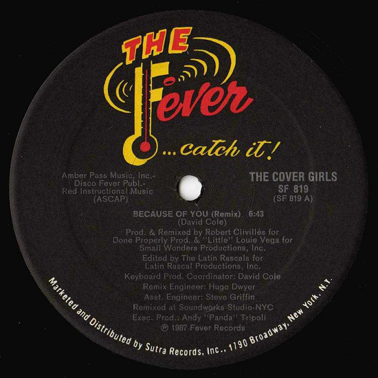 THE COVER GIRLS_Because Of You