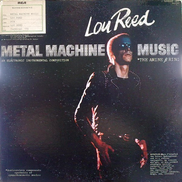 LOU REED_Metal Machine Music (The Amine  Ring)