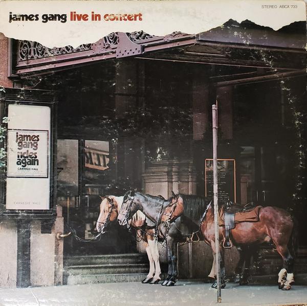 JAMES GANG_Live In Concert