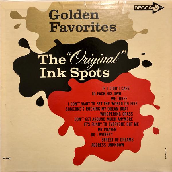 THE ORIGINAL INK SPOTS_Golden Favorites