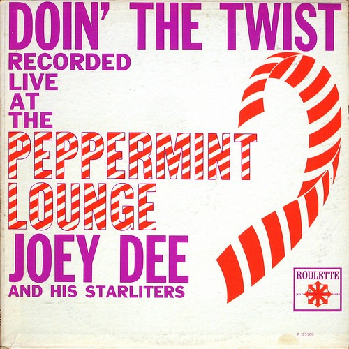 JOEY DEE AND THE STARLITERS_Doin The Twist At The Peppermint Lounge [Rare]