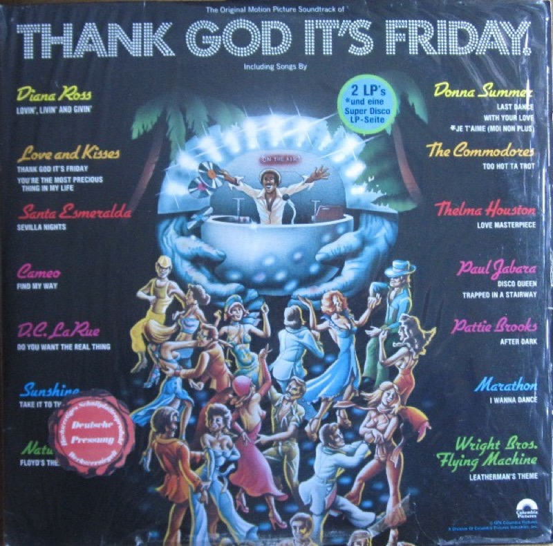 VARIOUS ARTISTS_Thank God Its Friday