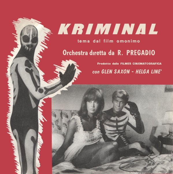 ROBERTO PREGADIO_2017RSD - Satanik OST (ltd to 500 copies, transparent red vinyl)