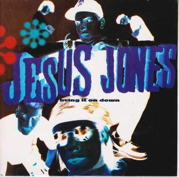JESUS JONES_Bring It On Down _W/ Poster_