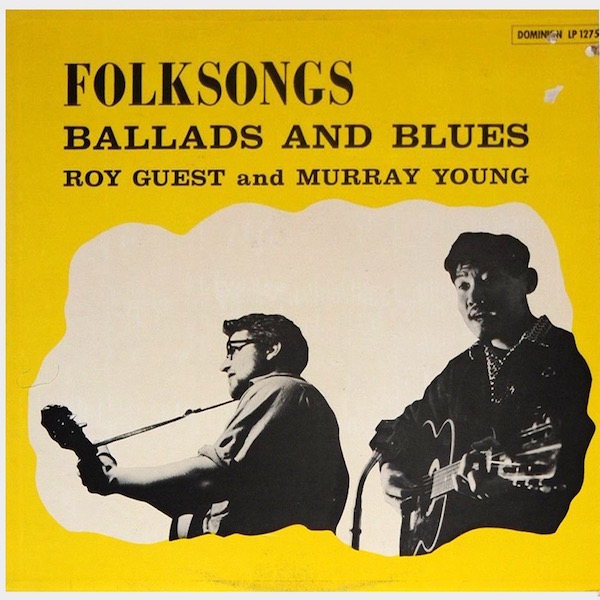 ROY GUEST_Folksongs, Ballads And Blues