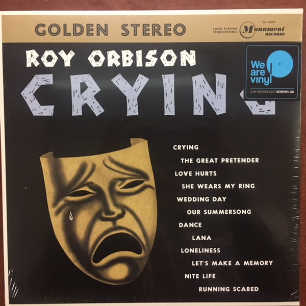 ROY ORBISON_Crying _New Reissue Feb 2018_