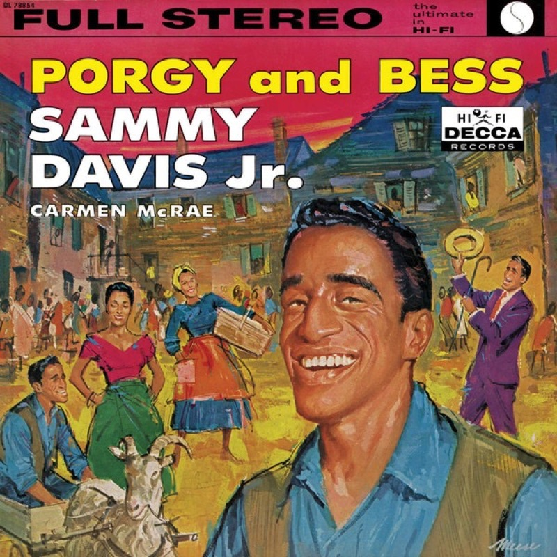 SAMMY DAVIS JR. AND CARMEN MCRAE_Porgy And Bess
