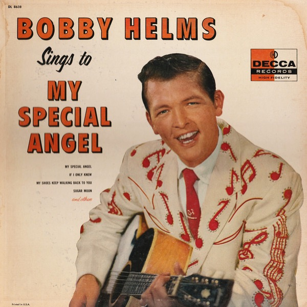 BOBBY HELMS_Sings To My Special Angel