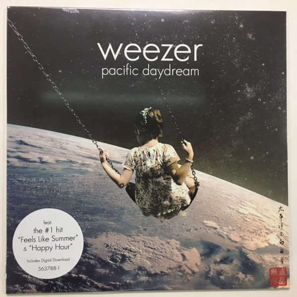 WEEZER_Pacific Daydream _W/Digital Download_ New Release Oct 2017