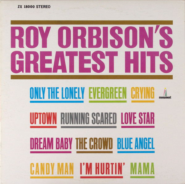 ROY ORBISON_Greatest Hits