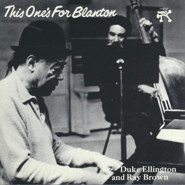 DUKE ELLINGTON - RAY BROWN_This Ones For Blanton