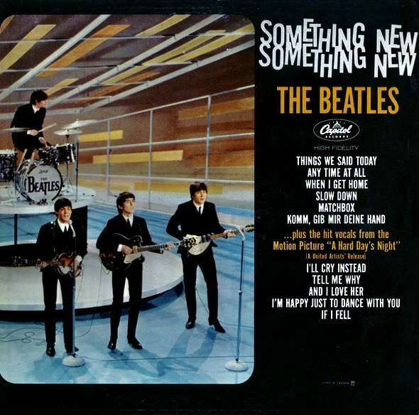 THE BEATLES_Something New _1964 Mono_