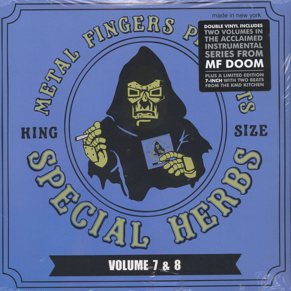 METAL FINGERS MF DOOM_Special Herbs Volume 7 And 8