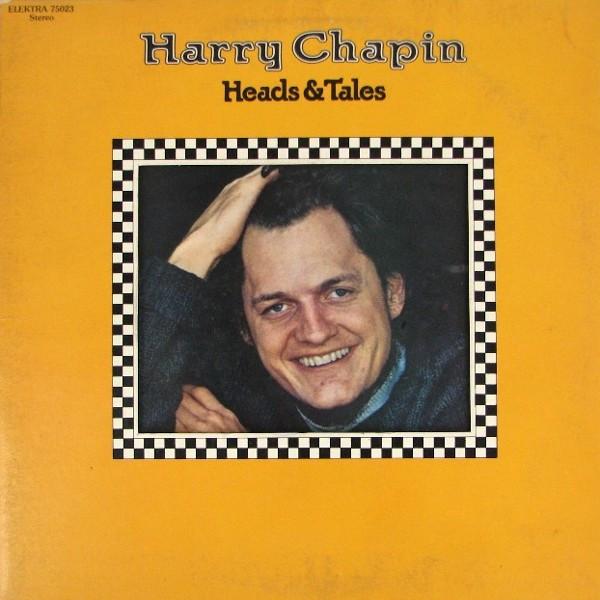 HARRY CHAPIN_Heads & Tails (Gatefold/w/original inner sleeve)