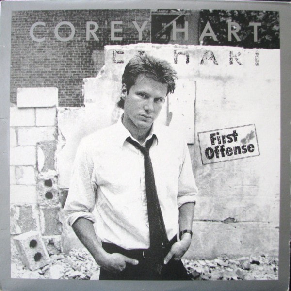 COREY HART_First Offense _W/Printed Inner Sleeve And Original Poster_