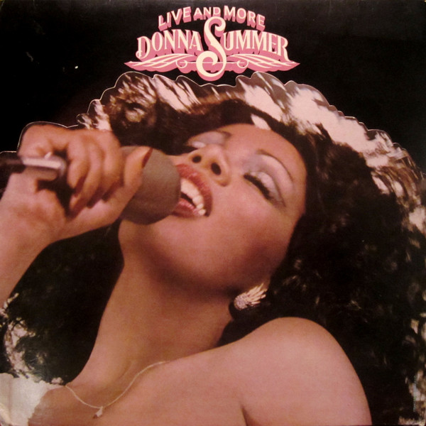 DONNA SUMMER_Live and More (2LP, die-cut trifold cover)