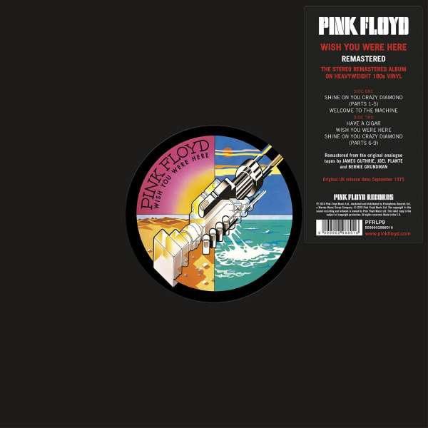 PINK FLOYD_Wish You Were Here _Reissue, Remastered, 180 Gram_