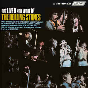 THE ROLLING STONES_Got Live If You Want It
