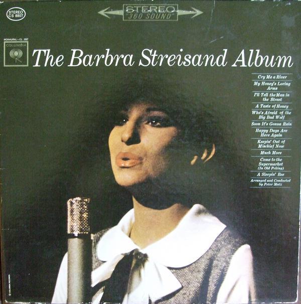 BARBRA STREISAND_The Barbra Streisand Album