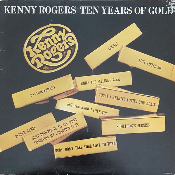 KENNY ROGERS_Ten Years Of Gold