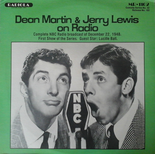 DEAN MARTIN AND JERRY LEWIS _Dean Martin And Jerry Lewis On Radio