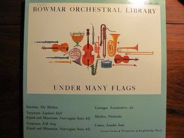 BOWMAR ORCHESTRAL LIBRARY_Under Many Flags
