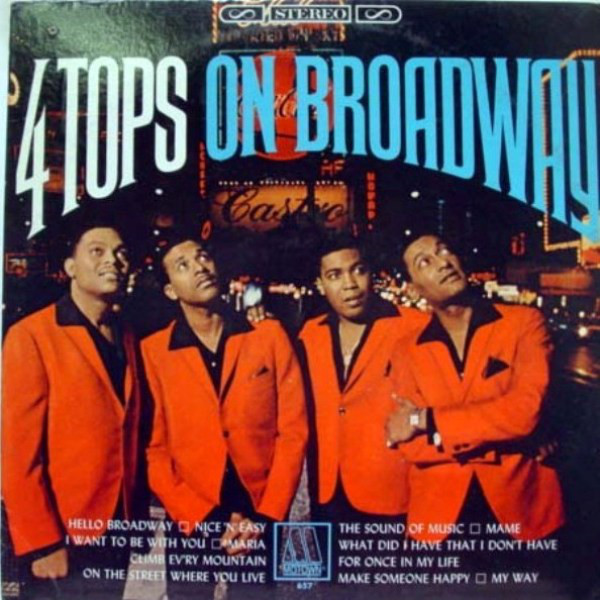 FOUR TOPS_Four Tops On Broadway